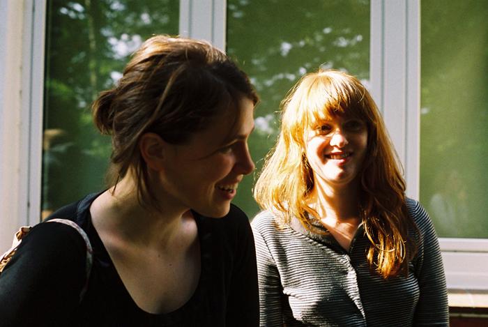 Luise Boege und Nannina Matz