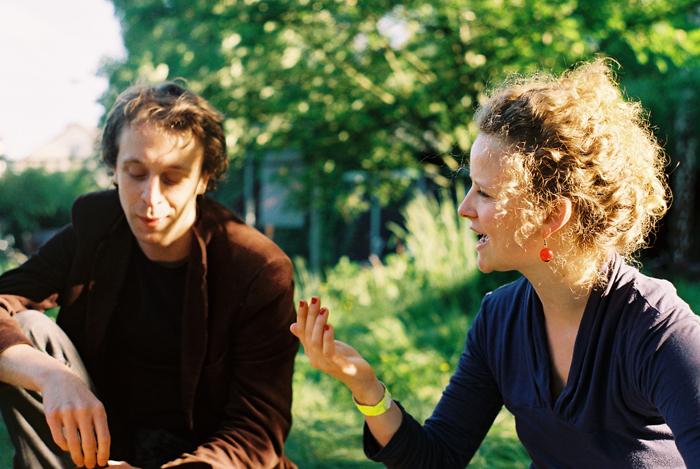 Phillip Maroldt und Greta Granderath